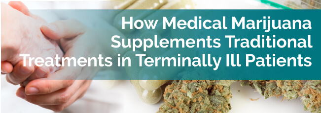 How Medical Marijuana Supplements Traditional Treatments in Terminally Ill Patients