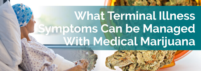 What Terminal Illness Symptoms Can Be Managed With Medical Marijuana?