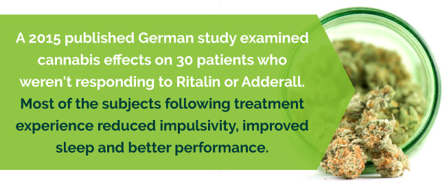 2015 German Study reveals positive results from cannabis