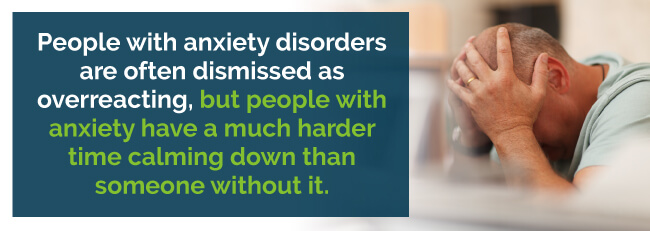 anxiety disorders dismissed