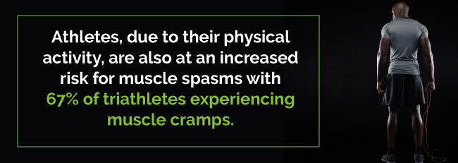 athlete muscle cramps