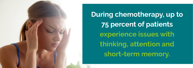 Memory greatly affected during chemotherapy