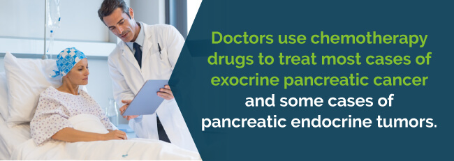 chemotherapy drugs to treat pancreatic cancer patients