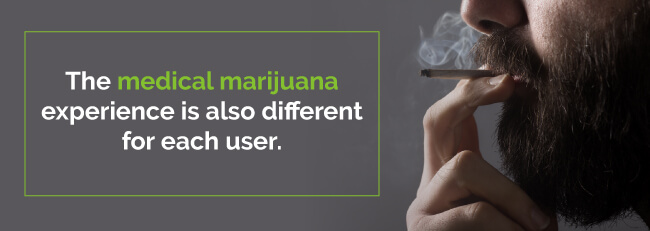 medical marijuana experience