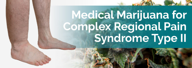 marijuana and crps ii