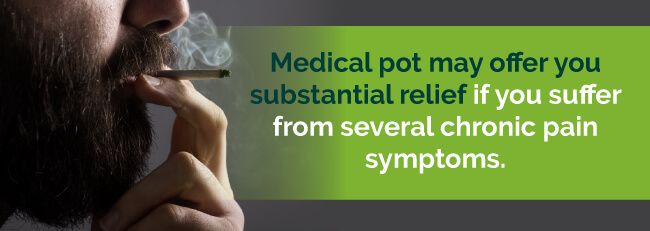 marijuana provides relief