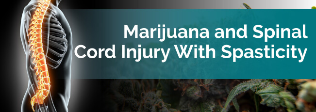 Marijuana and Spinal Cord Injury