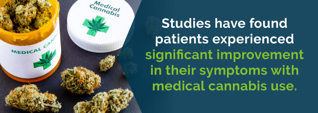 Improvement in symptoms with medical cannabis use