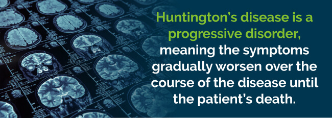 huntingtons disease progressive disorder