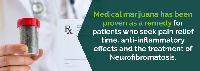 Medical marijuana has been proven as a remedy