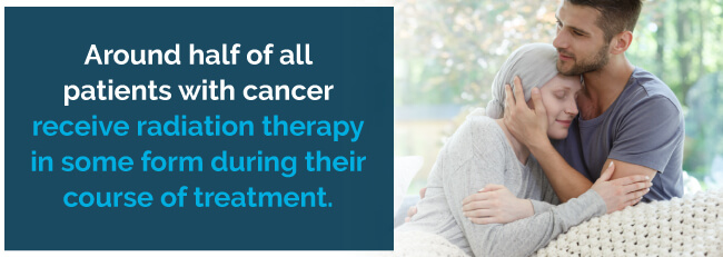 Radiation Therapy is common cancer treatment