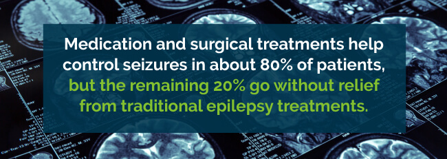standard epilepsy treatment
