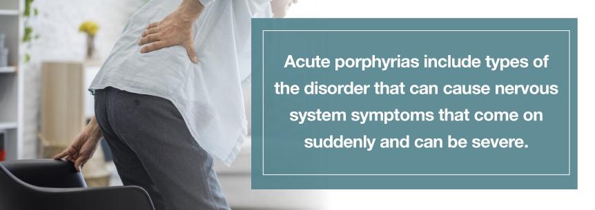 acute porhyria