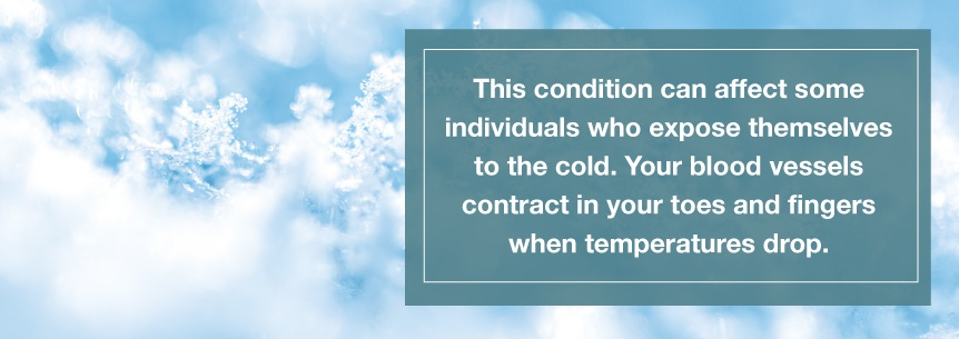 avoid cold exposure
