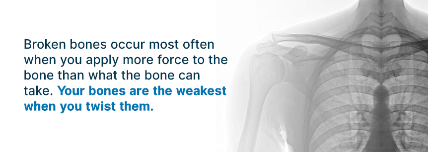 causes of broken bones