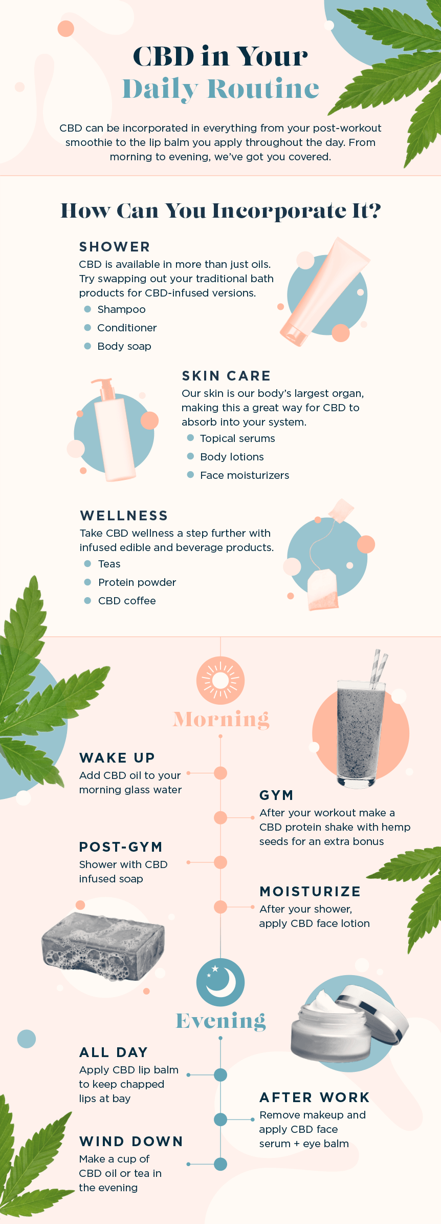 daily CBD routine