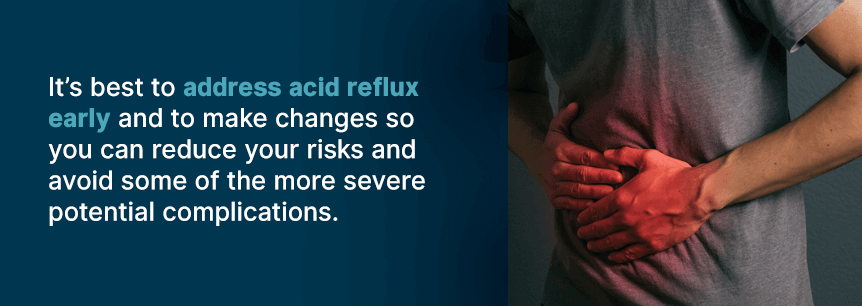 complications of acid reflux
