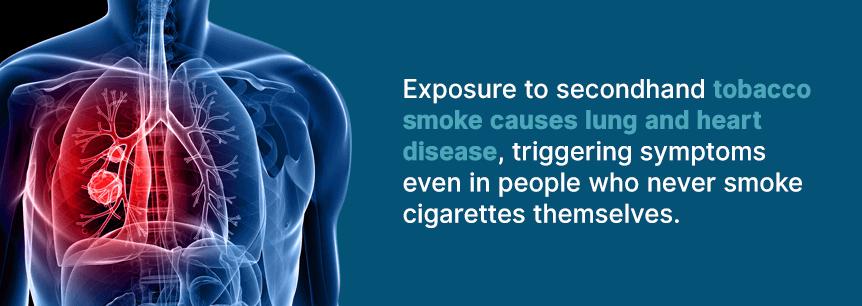 harmful tobacco smoke