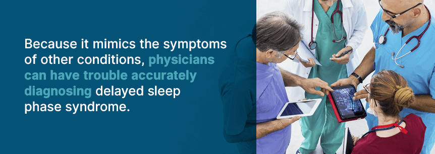 complications of delayed sleep