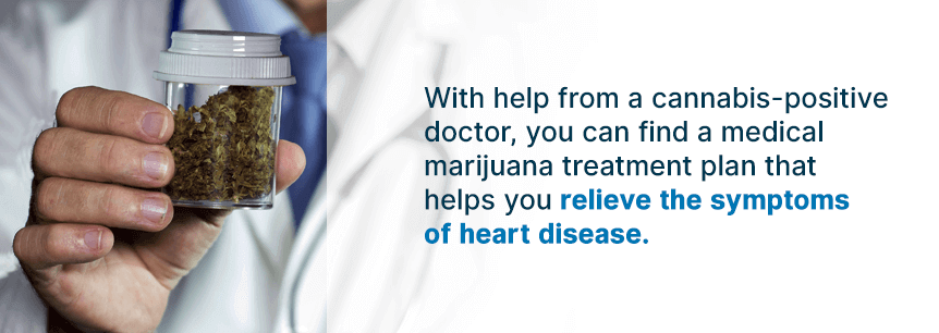 treating hearts with cannabis