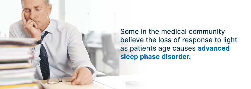 advanced sleep phase disorder causes
