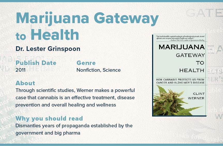 marijuana gateway to health book