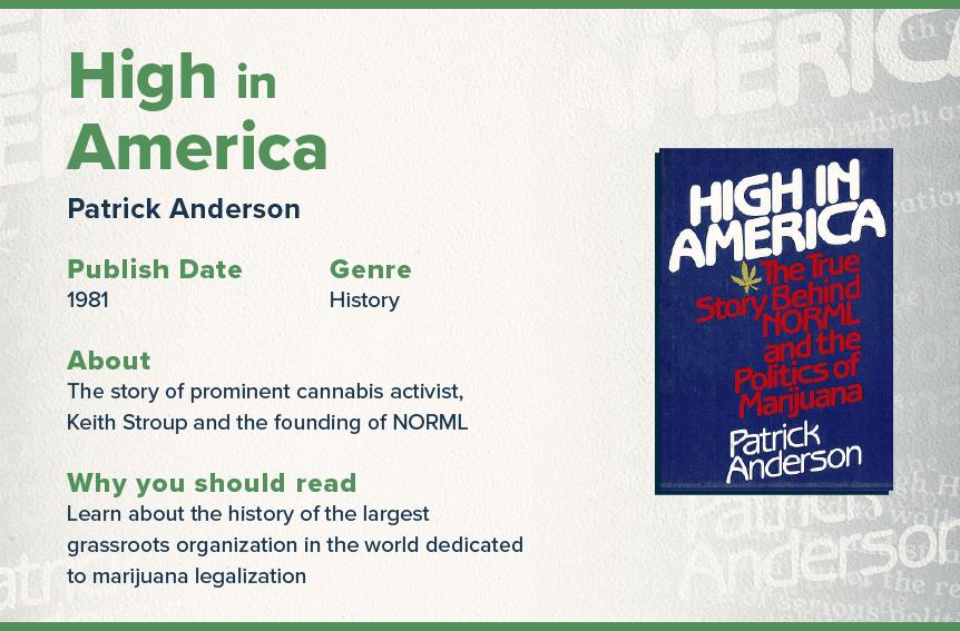 high in America book