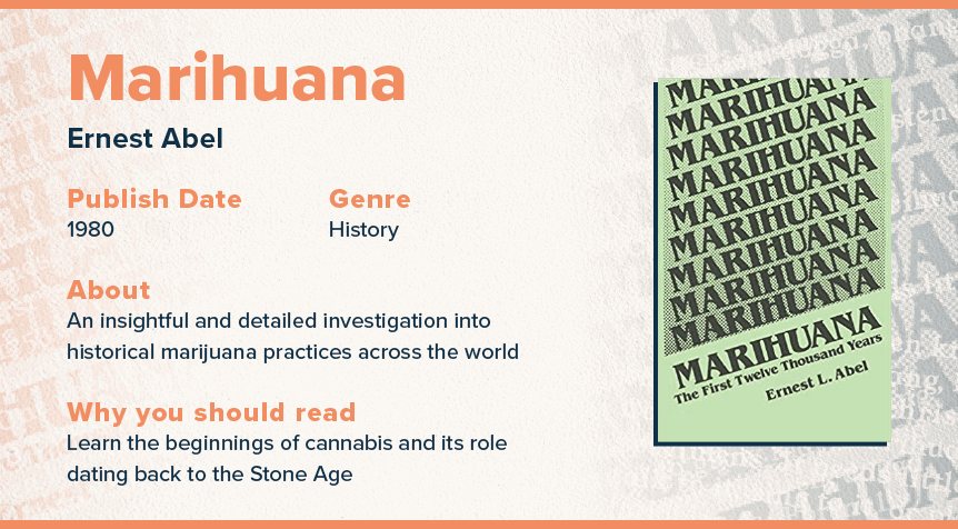 marihuana the first twelve thousand years book