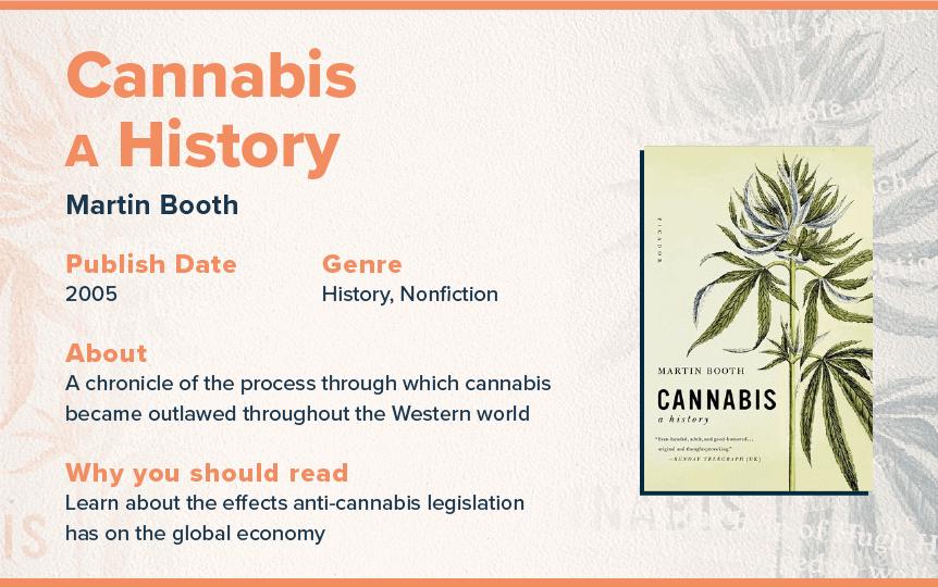 cannabis a history book