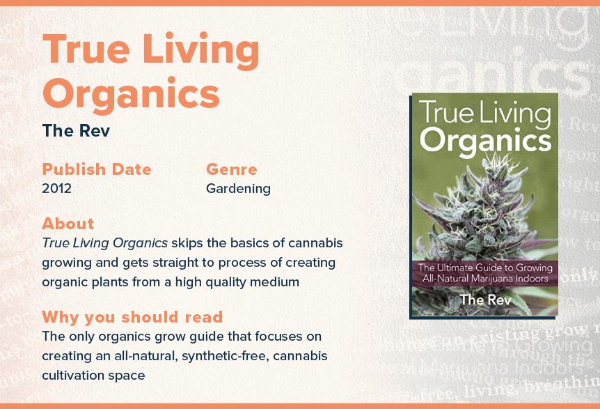 true living organics book