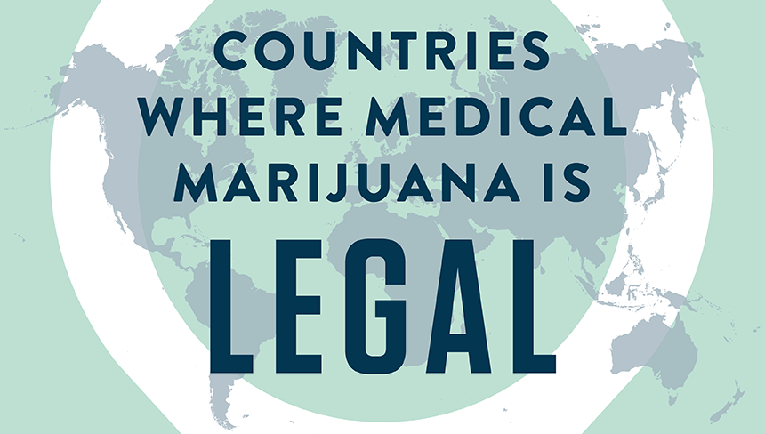 Countries Where Medical Marijuana is Legal