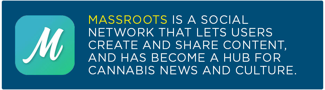 Cannabis Apps to Watch Massroots