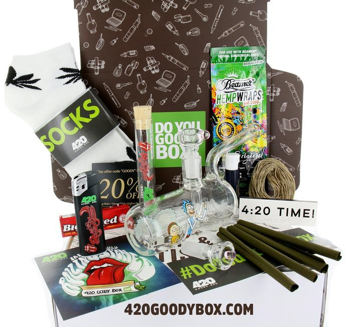 420 Goody Box Pot Gift Ideas Green Wednesday