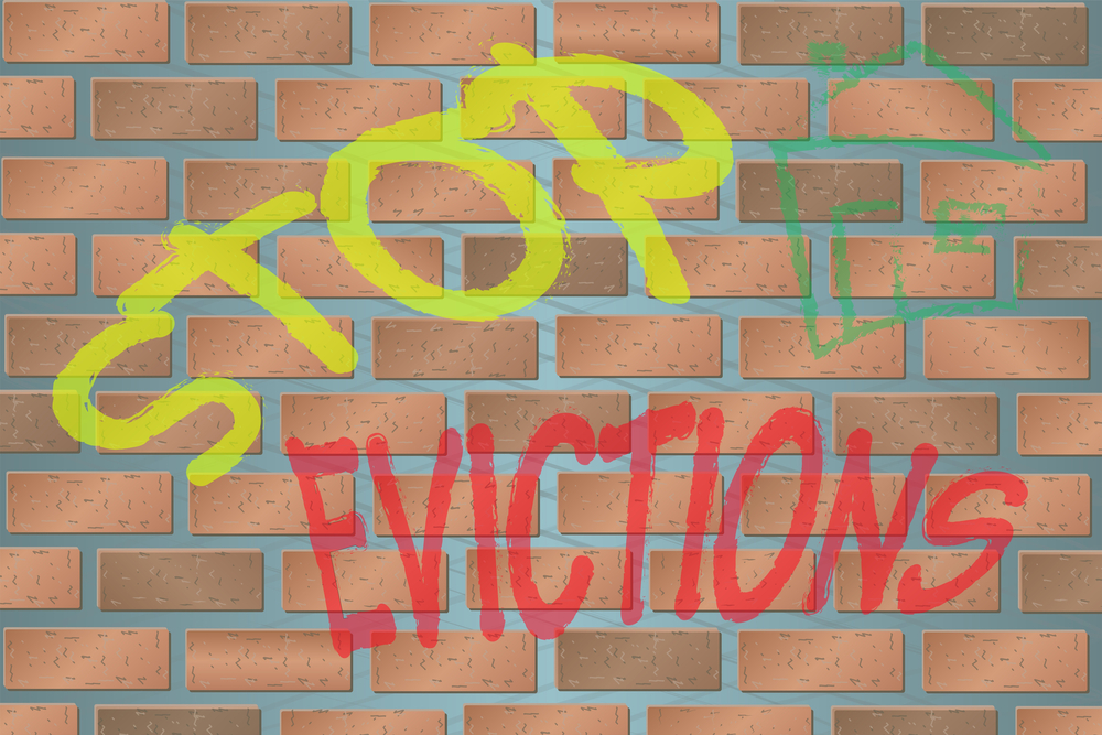 Pandemic Evictions Mental Health USA