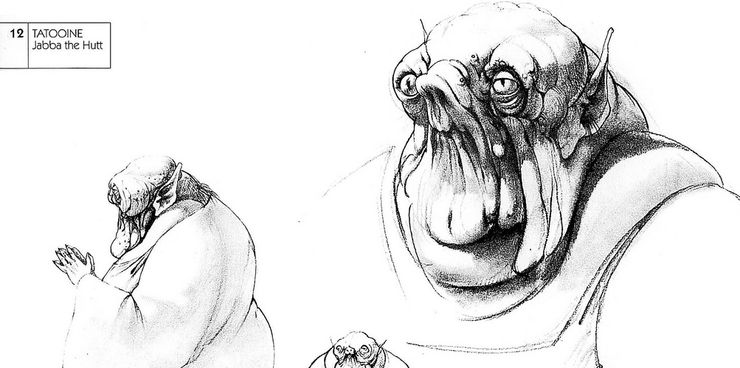 Ralph-McQuarries-early-concept-of-Jabba-the-Hutt