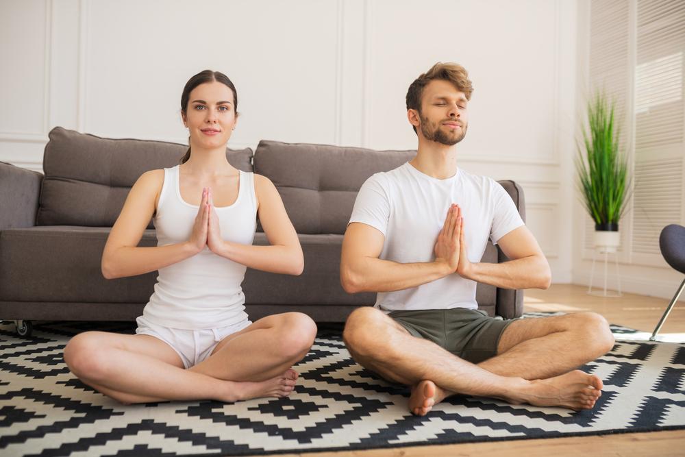 stress meditation covid19