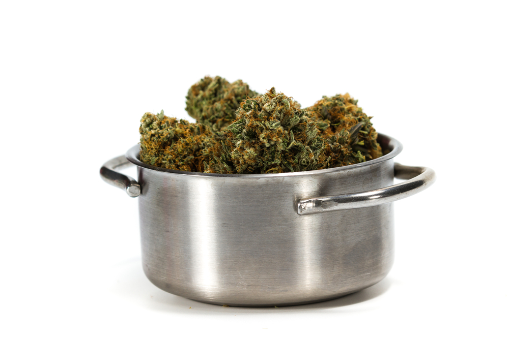 decarboxylating pot cooking