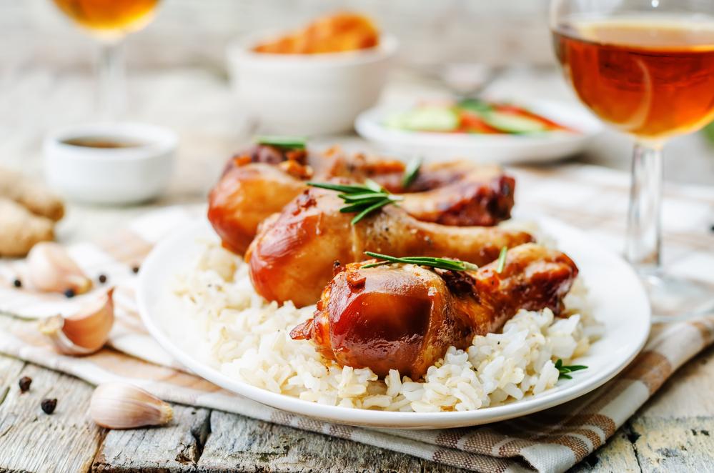 Instant Pot THC Honey Glazed Chicken
